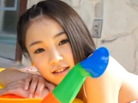 【U15】ジュニアアイドル・あやかちゃんの「もももも vol.77 ななみちゃん」