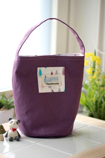 ワンハンドルがかわいい♡バケツ型バッグの作り方