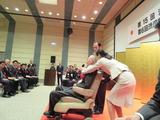 中村会長の受賞記念スピーチ