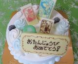 49歳誕生日のバースデーケーキ