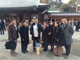 沢田会(沢田力後援会)として、氷川神社祈祷
