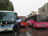 埼玉県護国神社例祭に県内各地よりバスで集う遺族