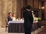 細田県議の披露宴にて