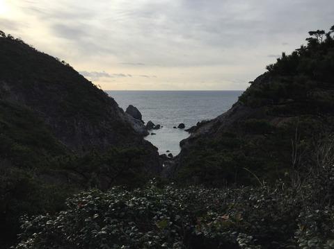 式根島 地鉈温泉(朝) 14
