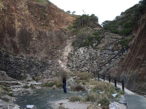 式根島 地鉈温泉(朝) 7