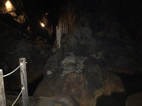 式根島 地鉈温泉(夜) 2