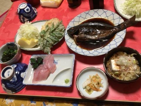 式根島 民宿(鈴豊) 2