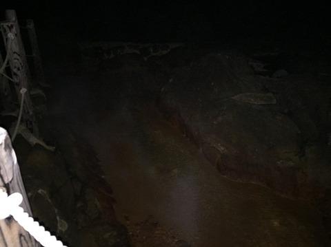 式根島 地鉈温泉(夜) 3