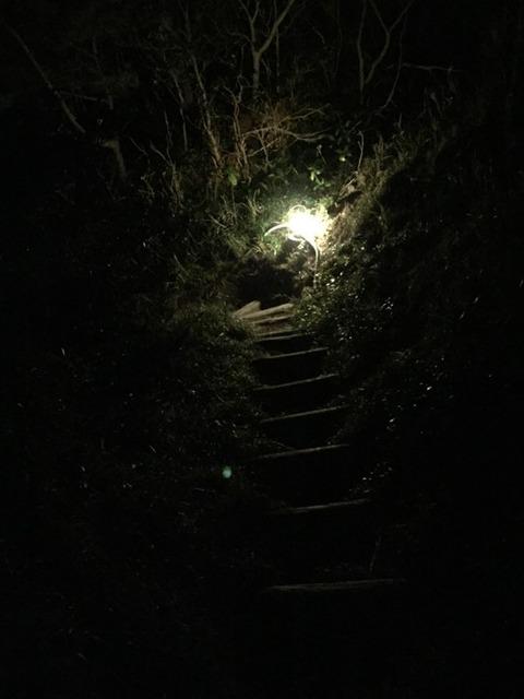 式根島 地鉈温泉(夜) 7
