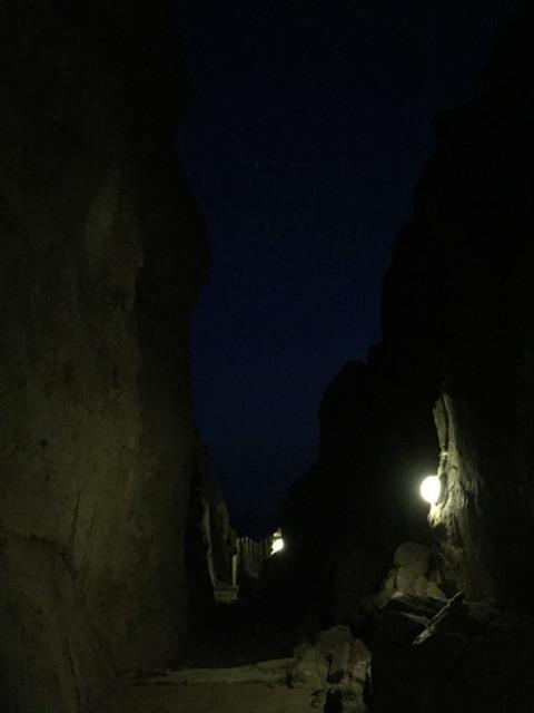 式根島 地鉈温泉(夜) 5