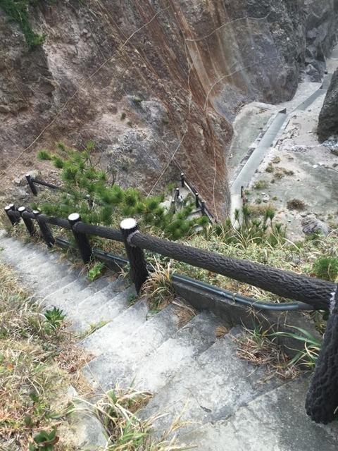 式根島 地鉈温泉(朝) 8