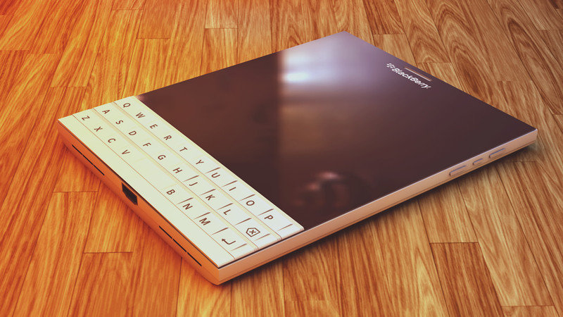 BlackBerryPassport White