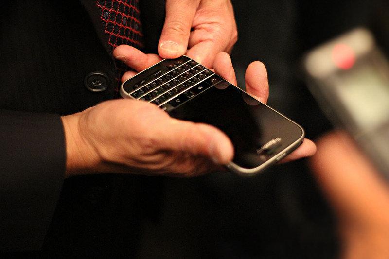 BlackBerry Classic画像