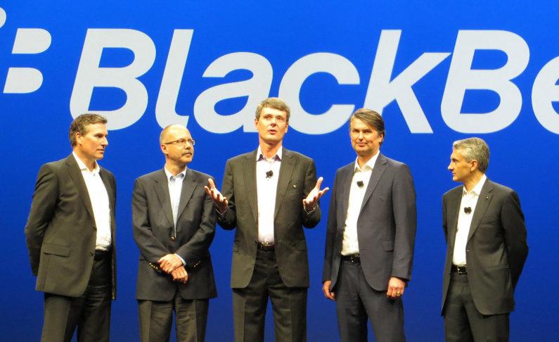 BlackBerry新しいCEOが暫定就任!