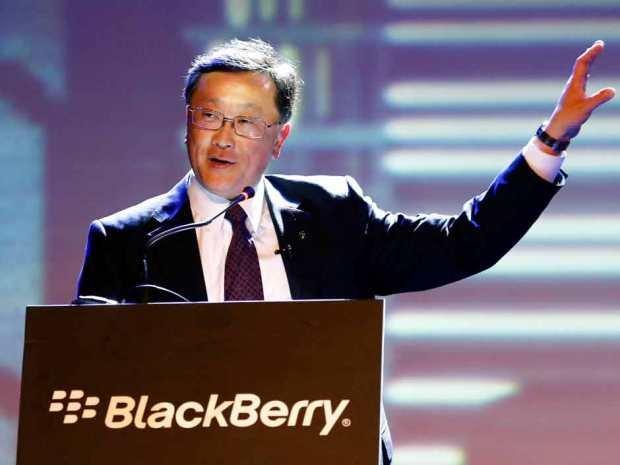 BlackBerry ジョン・チェンCEO