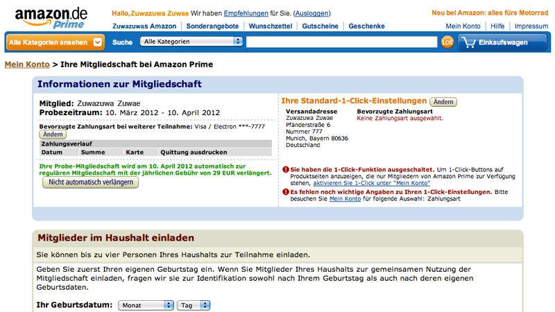 ドイチュ流 〜der deutsche weg〜 : ドイツ版amazonプライムの解約方法, Einladung