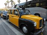 レトロなタクシー