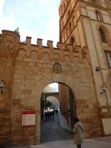 大聖堂に向かう入り口