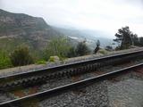 線路の真ん中が第3のギザギザ軌道