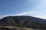 烏尾山から三ノ塔を見る