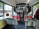 電車の終点から乗った73番のバス