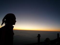 富士山夜明けと税理士