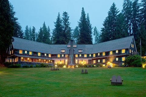 Khám phá hồ Quinault Lodge, rừng quốc gia Olympic, Washington