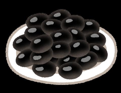 sweets_kuromame