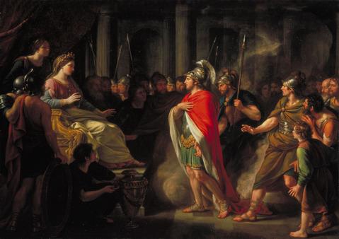 ディドーとアエネアスの出会い