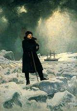 北極探検を行うノルデンショルド