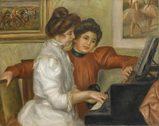 Yvonne et Christine Lerolle au piano