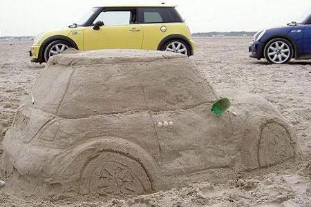 砂で出来たミニ