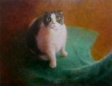 油彩画(ホルベインDUO)作品「あこがれ」