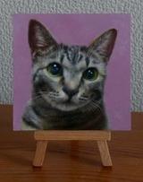 ペットの肖像画(ミニサイズ)『鈴』