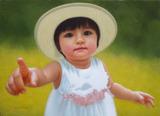 油彩画作品『夏の日』