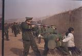 雲龍人部隊に処刑されるPDU関係者