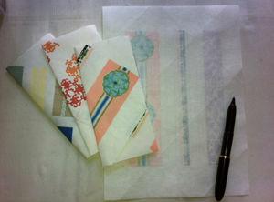 折り型封筒海路3