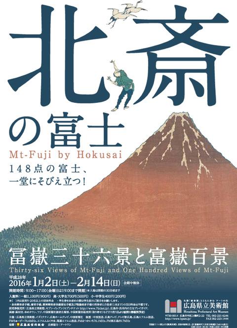 広島県立美術館 北斎の富士
