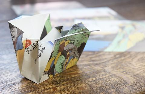 浮世絵折紙 小バッグ