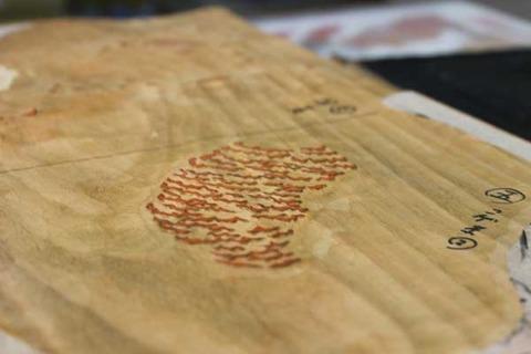 ゴモラ版木 色板②