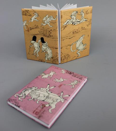 鳥獣戯画朱印帳 のコピー