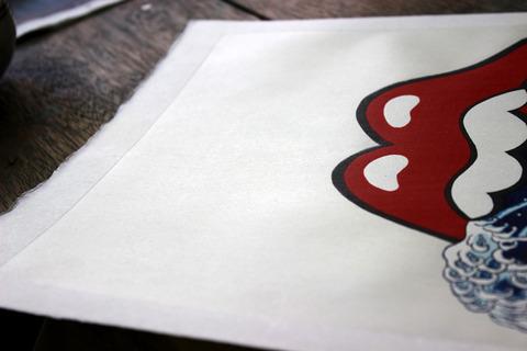 �雲母摺 のコピー