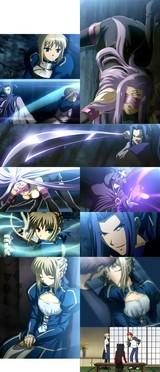 Fate/stay night9話