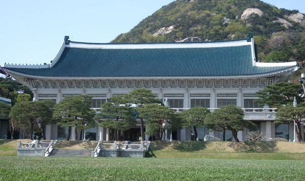 韓国青瓦台