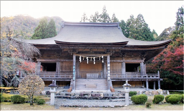 若狭神宮寺本堂