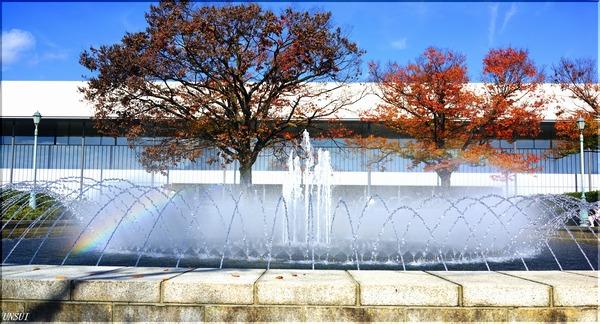 京都国立博物館噴水
