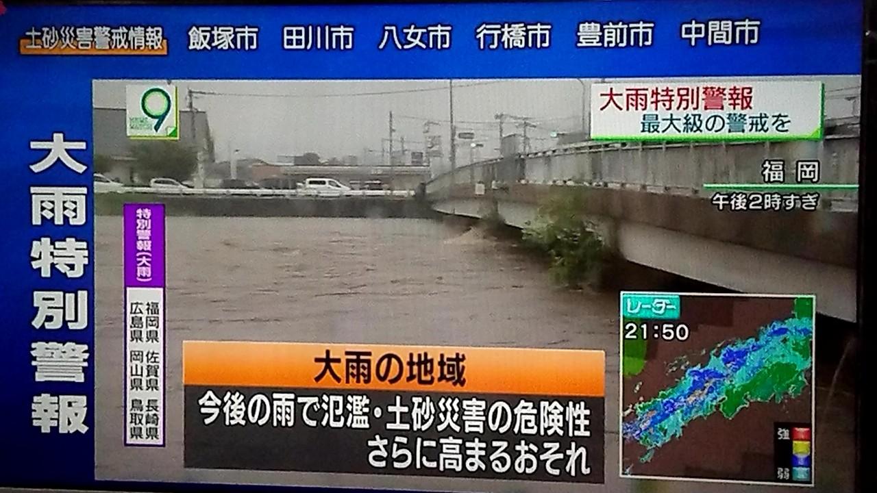 田川市 警報