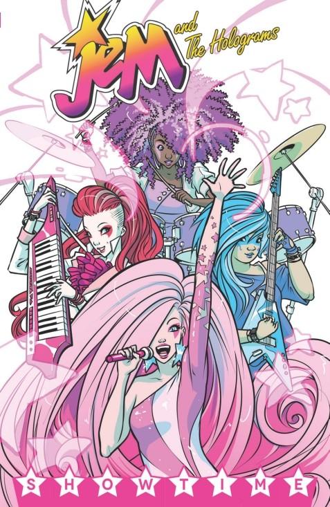 コミック版『Jem and The Holograms』#1