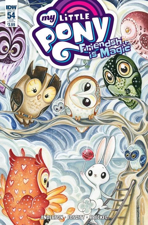 【MLPコミック】Friendship is Magic #54 プレビュー!