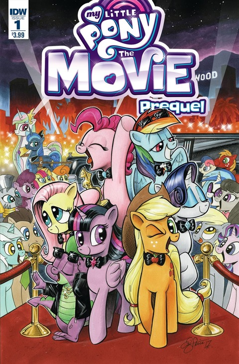 【MLPコミック】Movie Prequel #1 プレビュー!【The Movie】